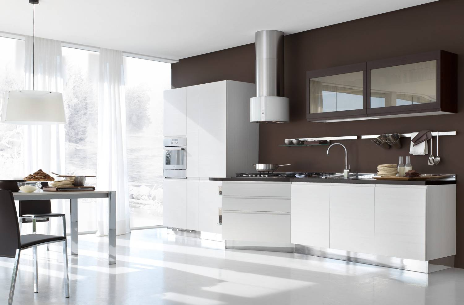 Straight Line Kitchen Designs - Home & Furniture Design ...