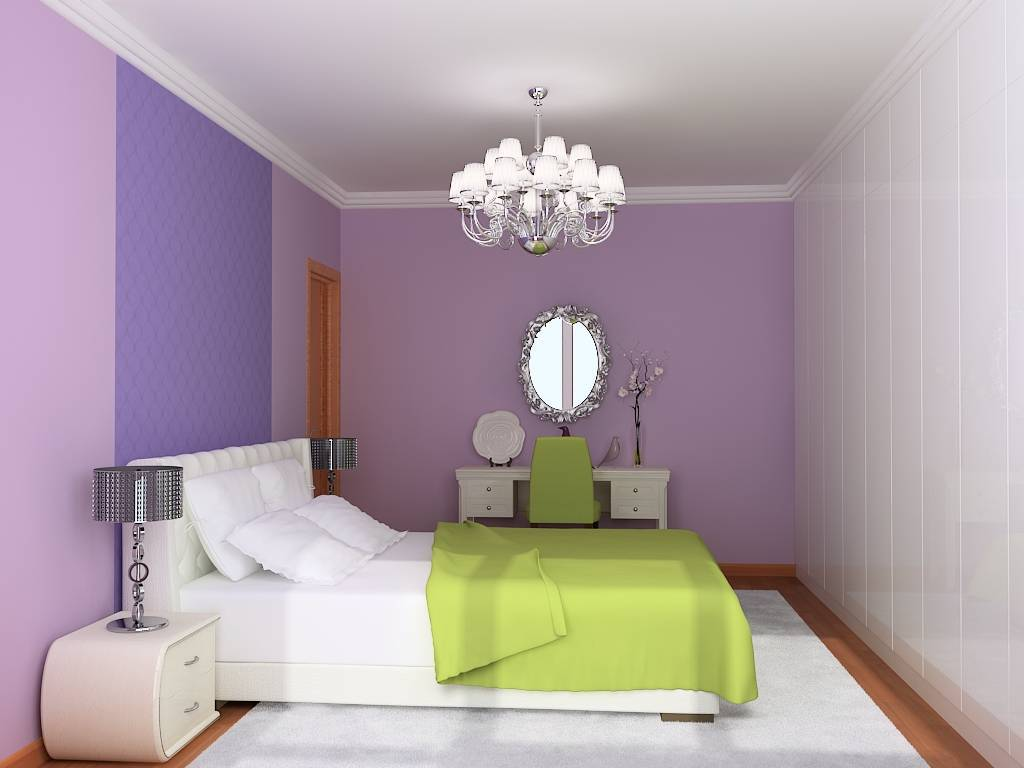 Wall Decoration According To Vastu : Colour combination for bedroom walls according to